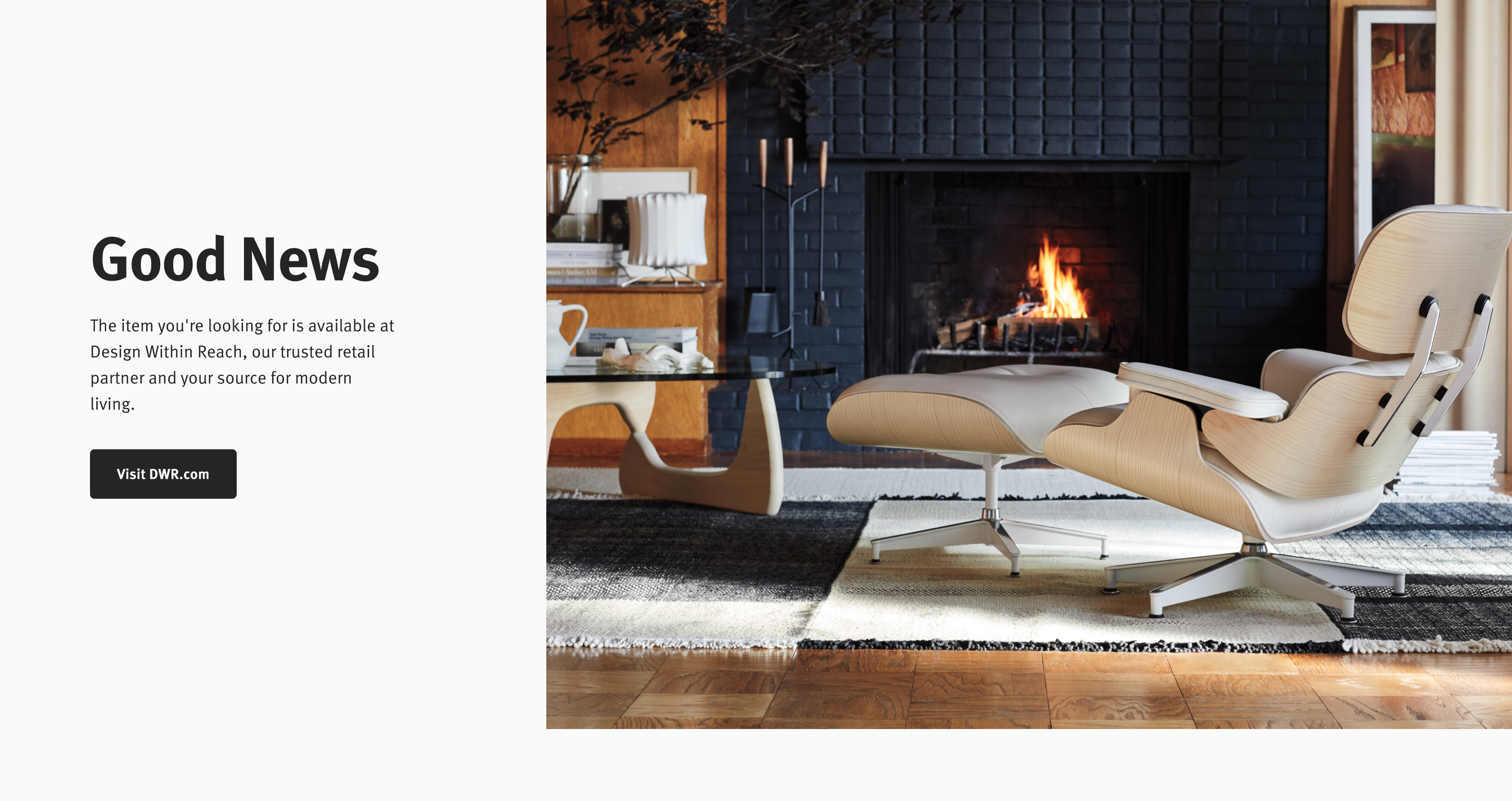 - Not on Herman Miller - Check Design Within Reach.